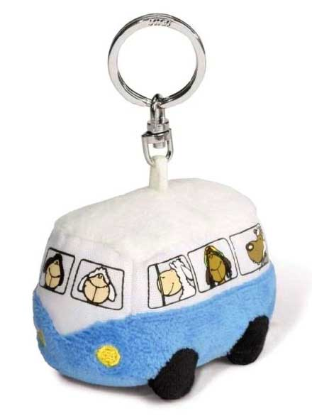 Llavero Nici Jolly Bus azul