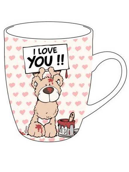 Taza Nici I love you oso