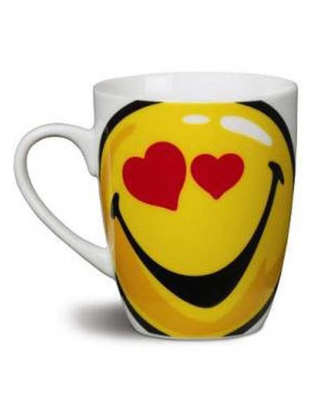 Taza I Love YOU Smiley World