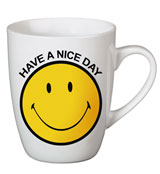 "Taza Smiley ""Have a nice day"" Amarilla"